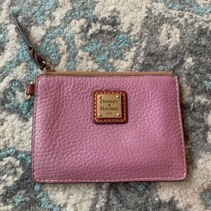 Dooney & Bourke Pebbled Leather Wristlet